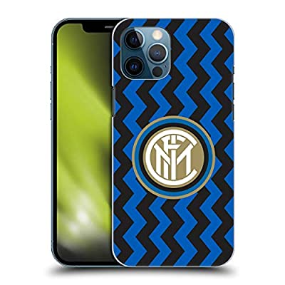 Head Case Designs Officially Licensed Inter Milan Home 2020/21 Crest Kit Hard Back Case Compatible with Apple iPhone 12 Pro Max