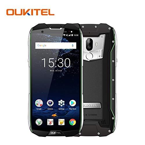 colinsa sólida Smartphone, oukitel wp5000Dual SIM Smartphone Desbloqueado, 6GB de RAM + 64GB ROM 5200mAh y 5,7pulgadas HD, Pantalla táctil exterior Smartphone Android 7.1robusto teléfono móvil