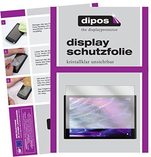 dipos I 2X Schutzfolie klar kompatibel mit Medion LifeTab X10311 Folie Bildschirmschutzfolie