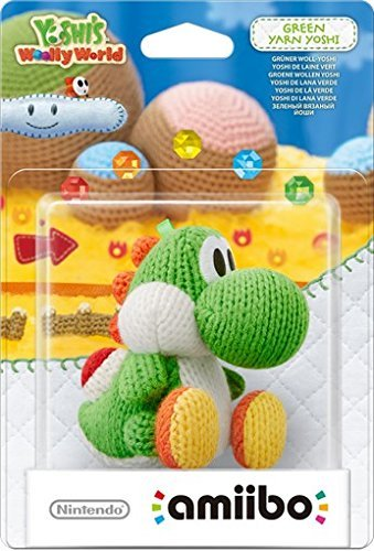 Nintendo amiibo Yoshi's Woolly World Green Yarn Yoshi (Nintendo Wii U/3DS)