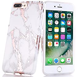 Faux Marble/Rose Gold iPhone7 Case on Amazon for $10.99