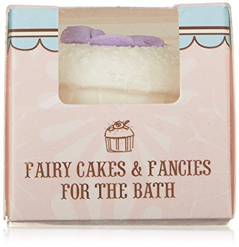 Rose And Co Patisserie De Bain Fairy Cake Moisturising Bath Melt LAVENDER 45g