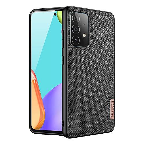 DUX DUCIS Hülle für Samsung Galaxy A52, Weiche TPU Silikon Stoßfeste Handyhülle für Samsung Galaxy A52 (Schwarz)