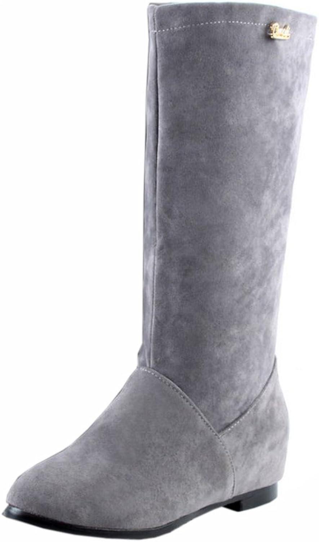 FizaiZifai Women Classic Tall Boots Pull On