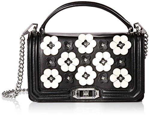 Rebecca Minkoff Damen Umhängetasche, Handtasche, schwarz, Einheitsgröße