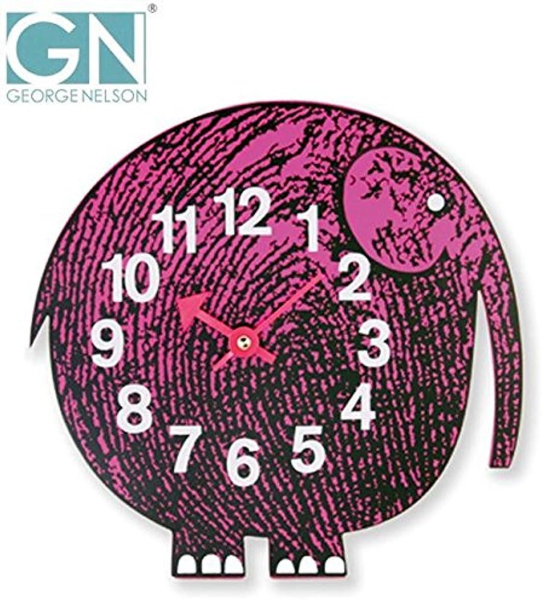 ほとんどの場合狂乱何十人もGeorge Nelson ジョージ?ネルソン 壁掛け時計 Zoo Timer Clock エレファント GN904