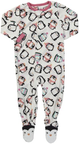 Carter/'s Girls Size 4T Fleece Owls 3-Piece Sleep Set Light Purple//Floral