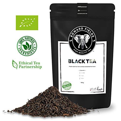 Edward Fields - Té Negro orgánico alta calidad