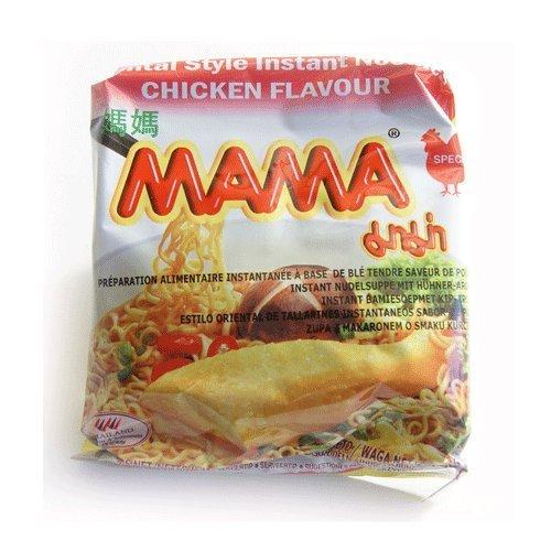 Mama oriental style chicken noodles - 30 sacchetti