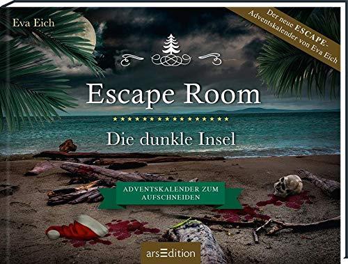 Escape Room. Die dunkle Insel. Das Original: Der neue Escape-Room-Adventskalender von Eva Eich (für Erwachsene)