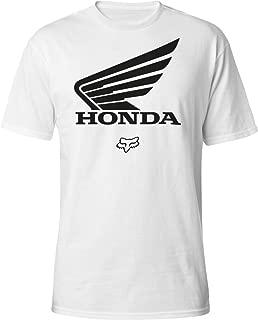 Fox Racing 2020 Honda T-Shirt (Large) (Optic White)