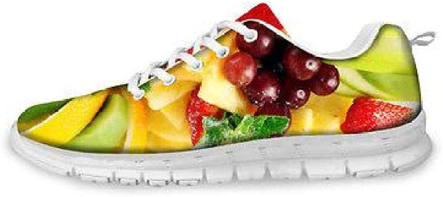 FidgetFidget Fresh Food Mesh Running shoes Women Personilty Sport Sneakers Light Trainers Fruit CC2006AQ 9