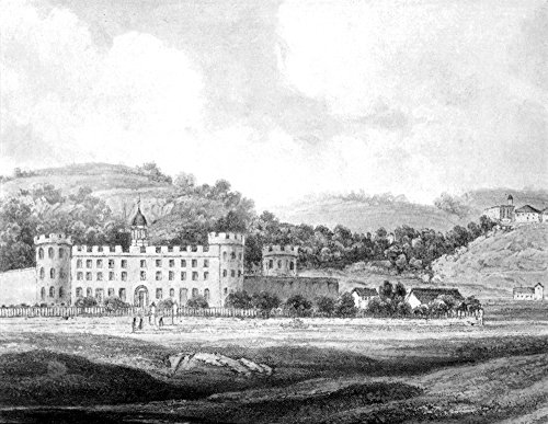 Pennsylvania Prison 1844 Nthe State Penitentiary Near Pittsburgh Pennsylvania Aquatint Engraving 1844 By Karl Bodmer Poster Print by (18 x 24) -  Granger Collection, GRC0076844
