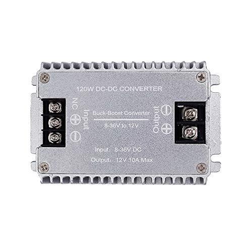 Valefod DC zu DC Hocheffizienter Spannungswandler 8-36V auf 12V 10A 120W Buck-Boost Konverter DIY Netzteil Step Down / Up Transformator