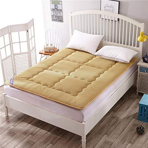 Zlzty opvouwbaar matras dubbel, crawling mat, Tatami matras, comfort draagbaar, matras begane grond slaapkussen opklapbare mat lui bed voor slaapzaal