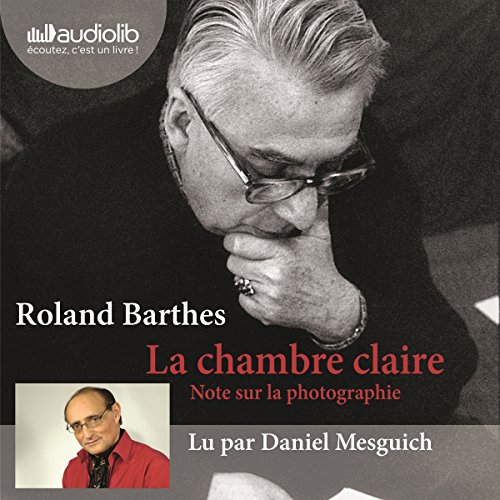 La chambre claire audiobook cover art
