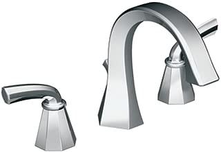 Moen TS448 Felicity Two-Handle High Arc Bathroom Faucet, Chrome