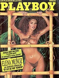 Playboy Spainish Edition July 1986 Adult Magazine