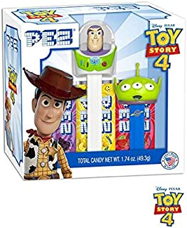Toy Story 4 Pez Gift Set (Buzz Lightyear and Green Alien)