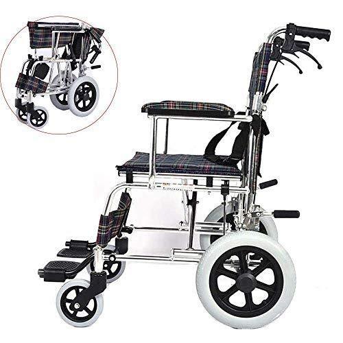 HJH Eetkamerstoelen, zelfaandrijving, rolstoelen, lichtgewicht rolstoelen voor volwassenen, ultralicht en volledig inklapbaar, rolstoel met verstelbare keukenstoel