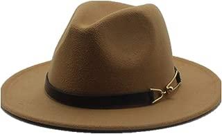 Sun Hat for men and women Women Men Fashion Wool Fedora Hat For Gentleman Elegant Lady Floppy Cloche Wide Brim Jazz Church Godfather Sombrero Cap