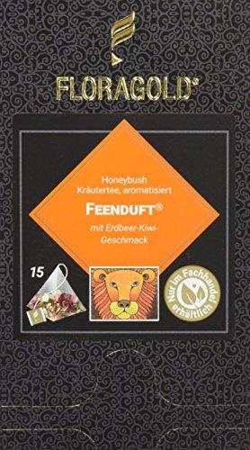 FLORAGOLD Pyramidenbeutel rotbuschtee Feenduft, 1er Pack (1 x 53 g)