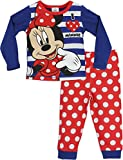 Disney Pigiama a Maniche Lunghe per Ragazze Minnie Mouse Multicolore 9-10 Anni