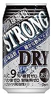 〔缶チューハイ〕 直球勝負 ストロングドライ 350缶 3ケース (1ケース24本入)(350ml)【合同酒精】