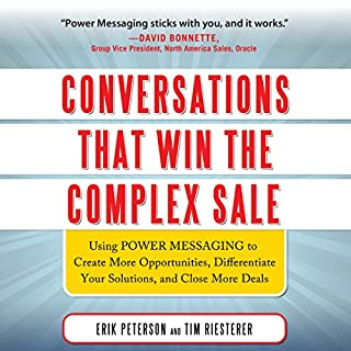 Conversations That Win the Complex Sale audiobook cover art