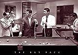 RAT PACK Poster Pool Billard FRANK Sinatra Dean Martin