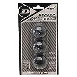 3x Dunlop Squashbälle Farbe : GELB