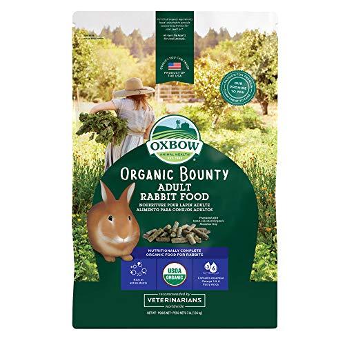 Oxbow Animal Health Organic Bounty Adult Rabbit Food - All...
