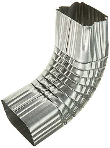 AMERIMAX HOME PRODUCTS 49064 3x4 Mill Finish Galvanized A Elbow