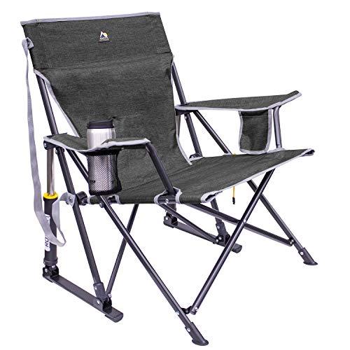 GCI KickBack Rocker Chair Heathered Pewter Gray