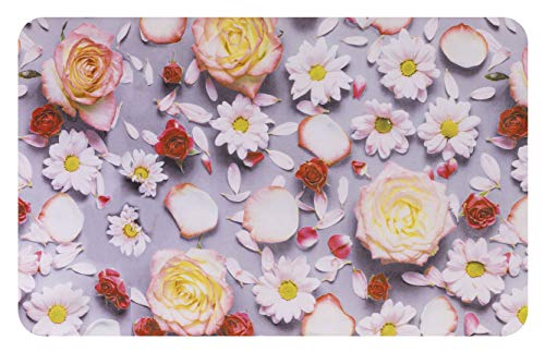 Tappeto Cucina Joke passatoia Varie Misure Antiscivolo Disegno CASA Shabby OlivoShop® (50x140 Rose)
