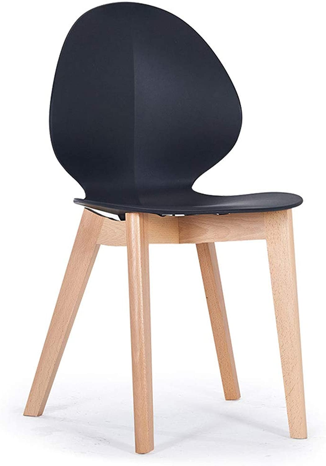 SLH Nordic Dining Chair Backrest Chair Modern Minimalist Home Study Room Negotiation Chair Stool