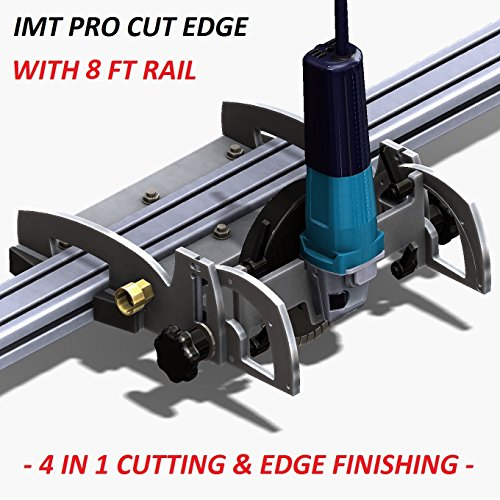 Buy Discount IMT-PRO CUT EDGE IP520S- Wet Cutting Rail Saw/Grinder/Polisher/Profiler For Granite- 8f...