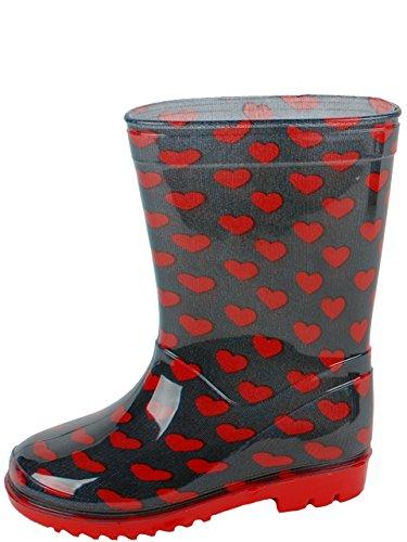 Gevavi Boots LOVE03210 Love Bottines pour fille PVC 21 Rouge