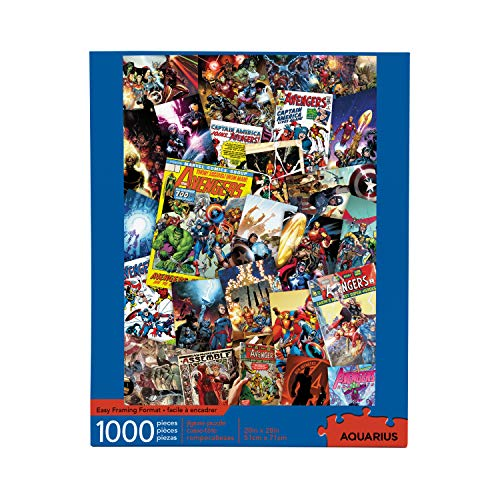 AQUARIUS Marvel Puzzle Cast (1000 Piece Jigsaw Puzzle) - Officially Licensed Marvel Merchandise & Collectibles - Glare Free - Precision Fit - Virtually No Puzzle Dust - 20 x 28 Inches