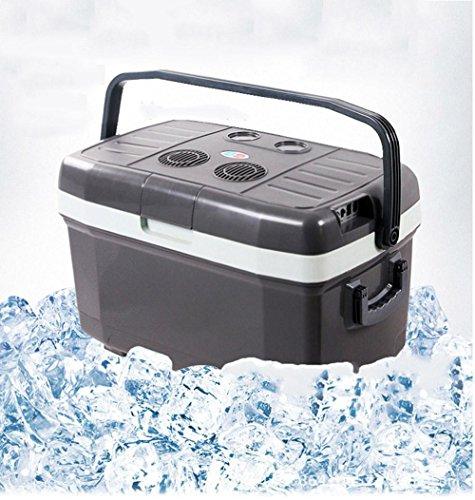 AMYMGLL 45L grand réfrigérateur de voiture réfrigérateur portable à double système système ABS matériel 12V voiture 220V alimentation domestique 54-78 (W) poids 12kg taille 67 * 41 * 40 * cm