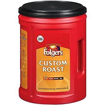 Folgers Custom Roast Ground Coffee - 48oz - CASE PACK OF 4