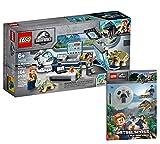 Collectix Lego Jurassic World 75939 Dr. WUS: Lanzamiento de los dinosaurios del bebé + Jurassic World (tapa blanda)