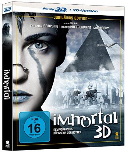 Immortal - New York, 2095: Die Rückkehr der Götter (Jubiläums-Edition) [3D Blu-ray + 2D Version]