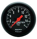 AUTO METER 2654 Z-Series Electric Pyrometer Gauge Kit,2.3125 in.