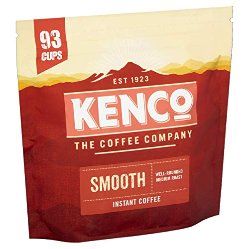 Kenco Smooth Instant Coffee Refill 150g (Total of 6 Packs)