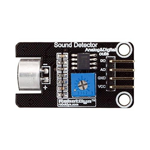 ILS RobotDyn Microphone Sound Measure Módulo de voz Sensor Board con Digital y Analog (5 unidades)