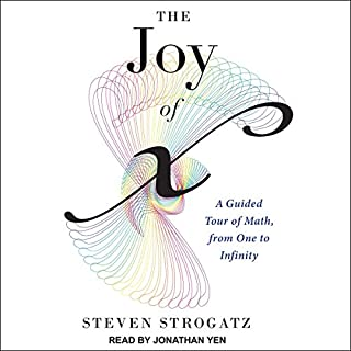 The Joy of x audiobook cover art