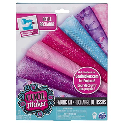 Cool Maker 6043735 Sew Cool Stoff Refill Craft Kit