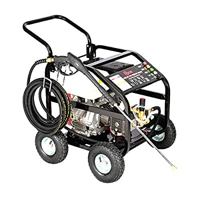 DKIEI Petrol Pressure Washer - 15HP Max 4800psi Petrol Engine Powered High Pressure Portable Jet Sprayer, 10M Hose by Dkiei
