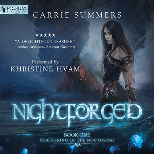 Nightforged audiobook cover art